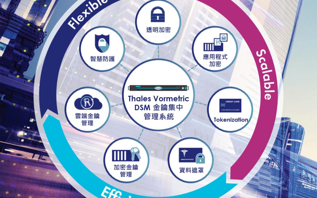 Thales Vormetric 資料保護解決方案