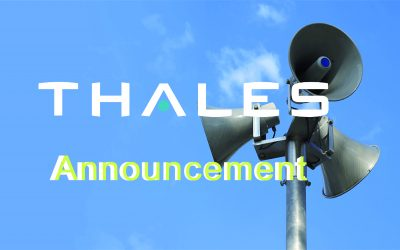 Thales 產品維護服務價格調整通知